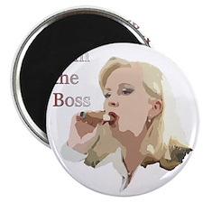 I am the boss Magnet