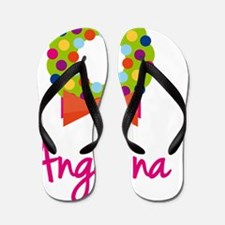 Christmas-wreath-Angelina Flip Flops