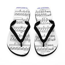 Moonlight-Sonata-Ludwig-Beethoven-iPad  Flip Flops
