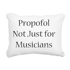 propofolmusicians Rectangular Canvas Pillow