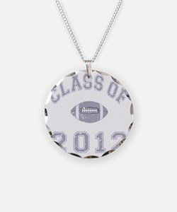 Class Of 2012 Football - Gre Necklace Circle Charm