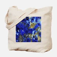 Lazurite-Blue-iPad2 Tote Bag