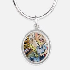 Final Earl Ray Tomblin Silver Oval Necklace