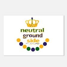 neutral ground side crown Postcards (Package of 8)
