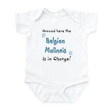 Belgian Malinois Charge Infant Bodysuit