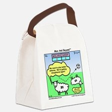 000046A10X10 Canvas Lunch Bag