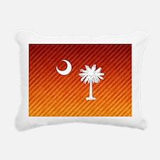 South Carolina Palmetto  Rectangular Canvas Pillow