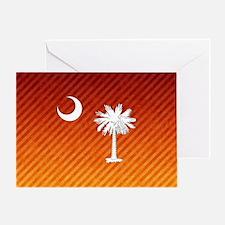 South Carolina Palmetto State Flag Greeting Card