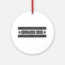 John Edwards 2008 Ornament (Round)