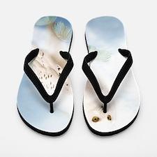 SnowyOwl Flip Flops