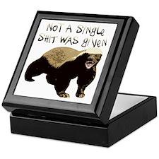 badger Keepsake Box