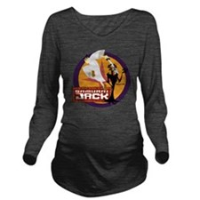 samuraijackfourTM Long Sleeve Maternity T-Shirt