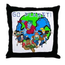 GOPLANETTMw Throw Pillow