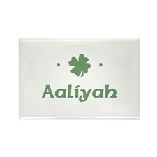 """Shamrock - Aaliyah"" Rectangle Magnet"