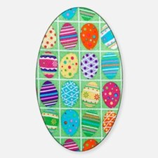 Eggs Sticker (Oval)