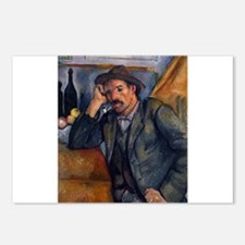 Man with pipe - Paul Cezanne - c1890 Postcards (Pa