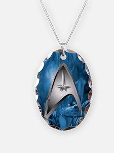 blue star trek case Necklace