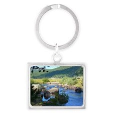 Hope Valley Carson River Landscape Keychain
