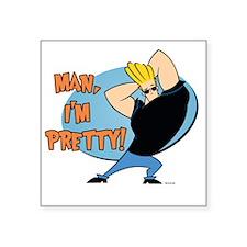 "MAN-IM-PRETTY - Copy Square Sticker 3"" x 3"""