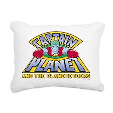captain-planet-logo - Co Rectangular Canvas Pillow