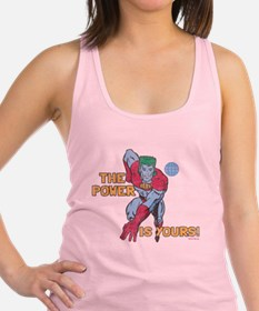 you-are-the-power-vintage - Cop Racerback Tank Top