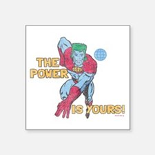 """you-are-the-power-vintage - Square Sticker 3"""" x 3"""""""