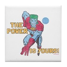 you-are-the-power-vintage - Copy Tile Coaster