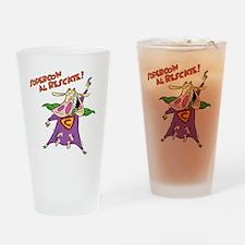 supercow-el-rescate - Copy Drinking Glass