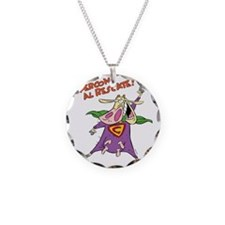 supercow-el-rescate - Copy Necklace