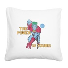 you-are-the-power-vintage - C Square Canvas Pillow