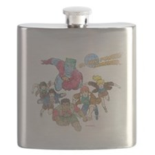 captain-planet-logo-vintage - Copy Flask