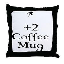 coffeemug Throw Pillow