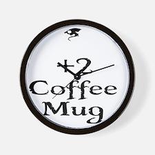coffeemug Wall Clock