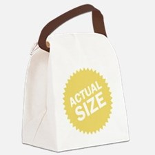 actualsize Canvas Lunch Bag