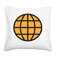 captain-planet-costume Square Canvas Pillow