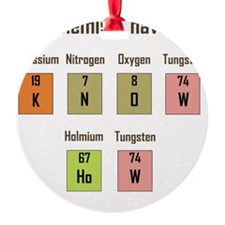 Chemistry - Know How Womens Ornament