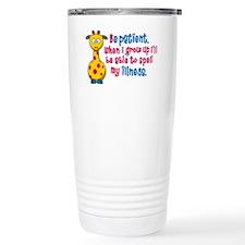 be Patient Travel Mug