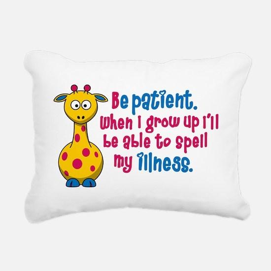 be Patient Rectangular Canvas Pillow