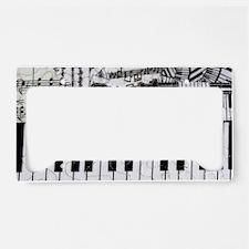keyboard-cat-clutchbag License Plate Holder