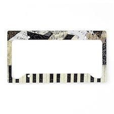Piano-clutchbag License Plate Holder