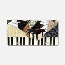 Piano-clutchbag Aluminum License Plate