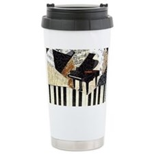 Piano-clutchbag Travel Mug