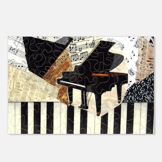 Piano-clutchbag Postcards (Package of 8)
