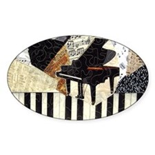 Piano-clutchbag Decal
