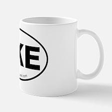 Ukulele Sticker Mug