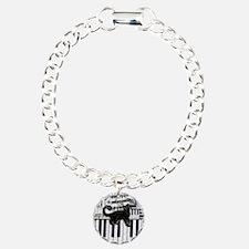 keyboard-cat-ornament Charm Bracelet, One Charm