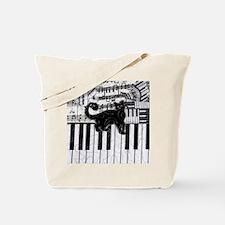 keyboard-cat-ornament Tote Bag