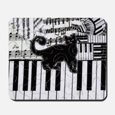 keyboard-cat-ornament Mousepad