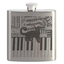 keyboard-cat-ornament Flask