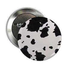 "cow_print_fur_3a_12x12 2.25"" Button"